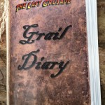 The Last Crusade Geocache Book - Cover