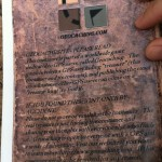 The Last Crusade Geocache Book – Back